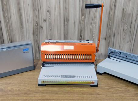 Máquina de Encadernação – Conheça alguns modelos