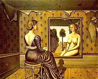 Paul Delvaux, Le miroir, 1936.jpg