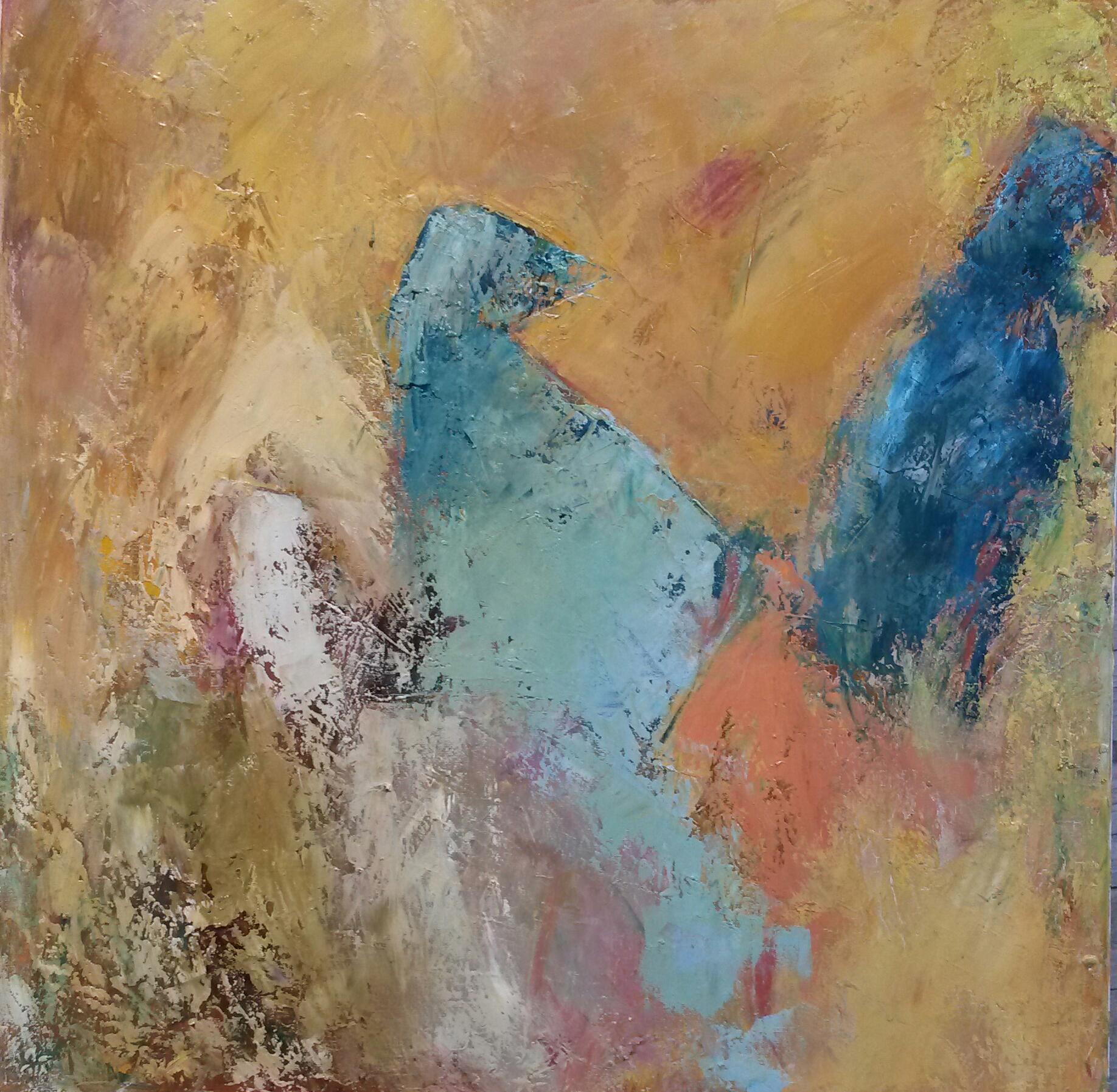 Silhouettes, 2016, t.m., 50x50cm