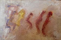 Présences 10, 2014, t.m., 41x27cm