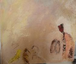 Présences 4, 2014, t.m., 40x40cm