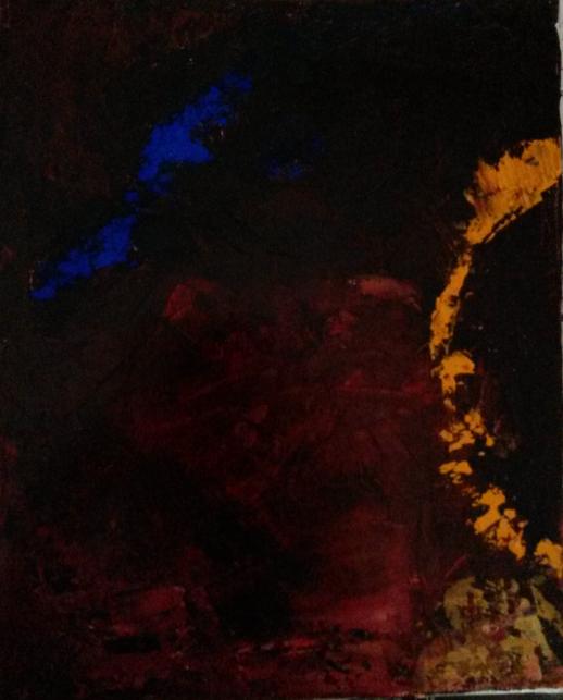 Sans titre 4, 2014, t.m., 22x27cm