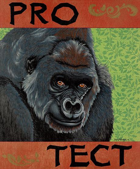 PRO-TECT Gorillas - Open Edition Print