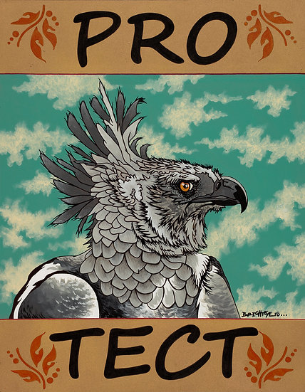PRO-TECT Harpy Eagles - Open Edition Print