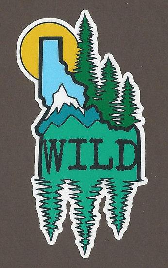 Idaho Wild Sticker