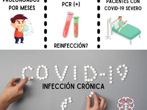 Infección crónica por COVID-19