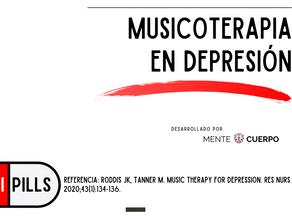 Musicoterapia en depresión