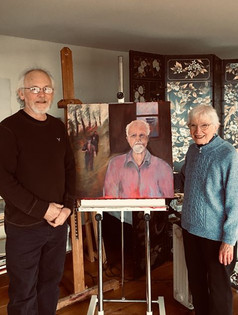 Charles Kniffen and Joyce Weber