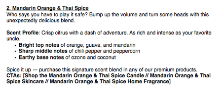 Mandarin and Thai