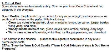 Yuzu and Oud