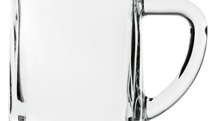 0,5l Glas | Glaskrug | Bierglas | großes Spritzerglas
