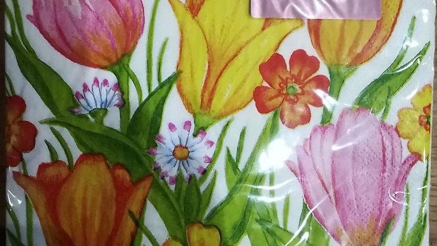 Servietten (20 Stück Packung) | Muster 1