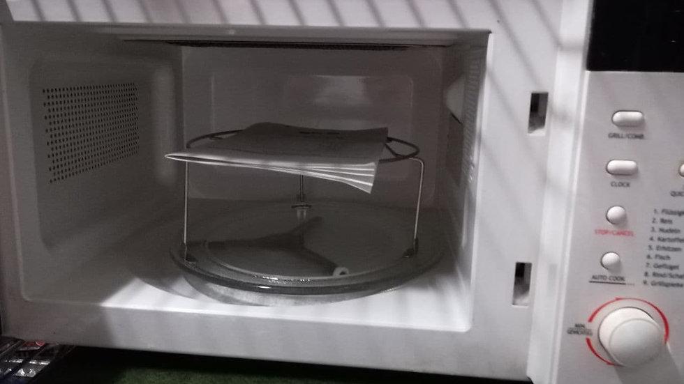 Mikrowelle silva (weiß)