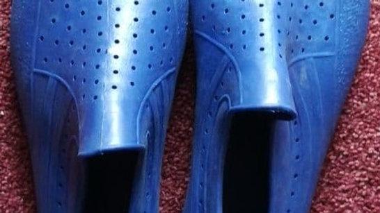 Gummischuhe blau (Größe 43-44)   Schuhe für Surfer, Boot, Strand;