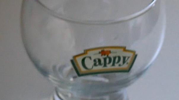 Glas, Trinkglas, Cappyglas 0,25l