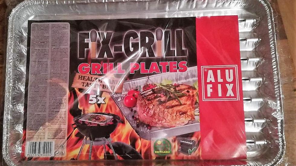 Grilltasse | Alufix FIX-GRILL Grilltassen (5 Stk.)