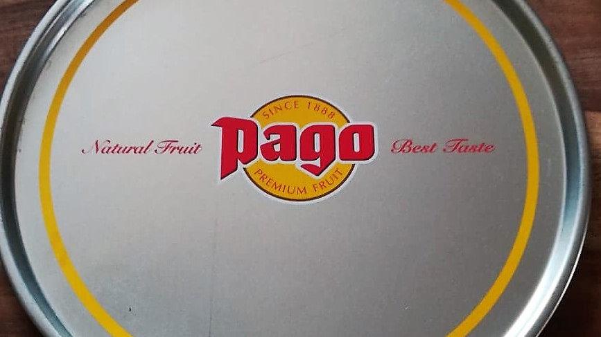 PAGO Tablett, Tableau   ca. 40cm Durchmesser