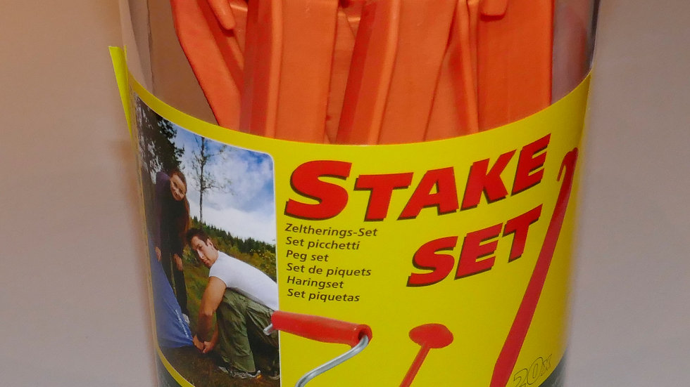 Stickbox, Stake Set