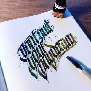 QUOTE | Blackletter