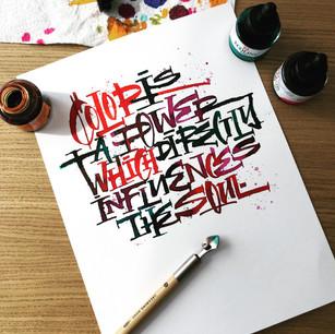 QUOTE | Calligraphy