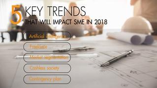 ถ้าคิดจะเริ่มต้นธุรกิจ SME ในปี 2018 ต้องห้ามพลาด 5 เทรนด์ใหญ่นี้ที่กำลังเกิดขึ้น