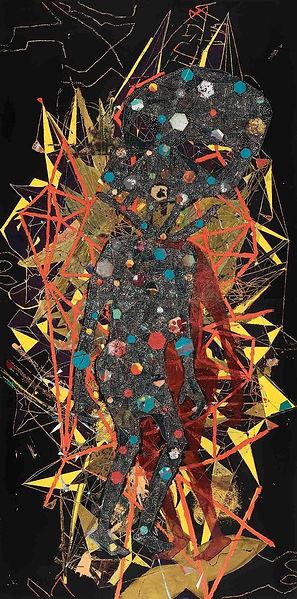 Apocalypse », 2011, huile sur toile et f