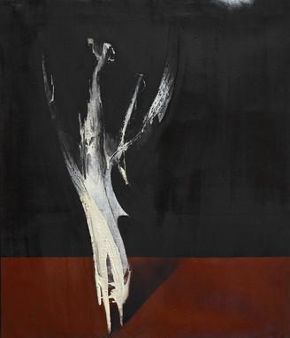 Arbre-Personnaje, 2013, huile s. toile,