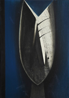 Tête ancestrale, 2017, huile s. toile, 6