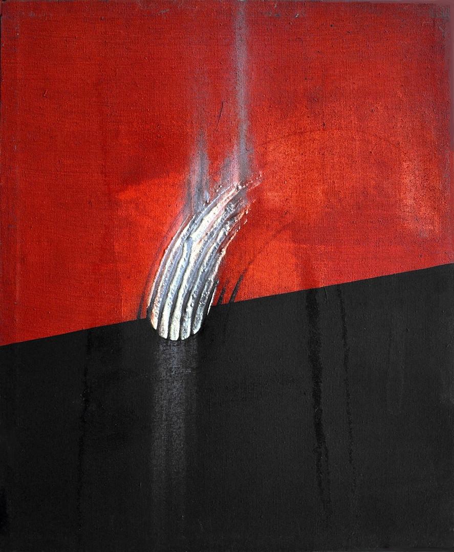 Croissance, 2013, huile s. toile, 61x50c