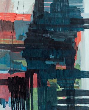 sans titre, 2014,huile sur toile,165cm x
