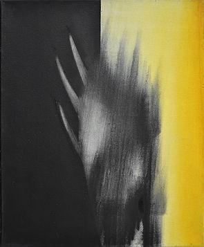 Détresse, 2013, huile s. toile, 61x50cm.