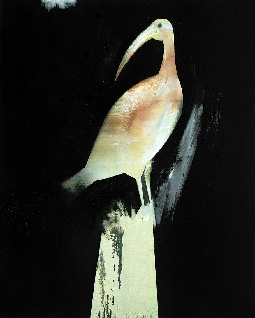 2011, huile sur toile