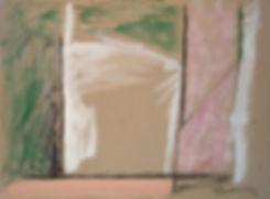 Door, 1983 technique mixte sur carton 56