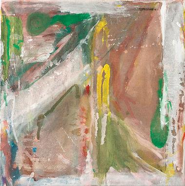 Mifuji, 2016, gouache sur toile, 40 x 40