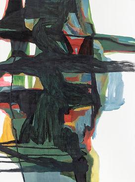 04.sans titre, 2016,huile sur toile,130c