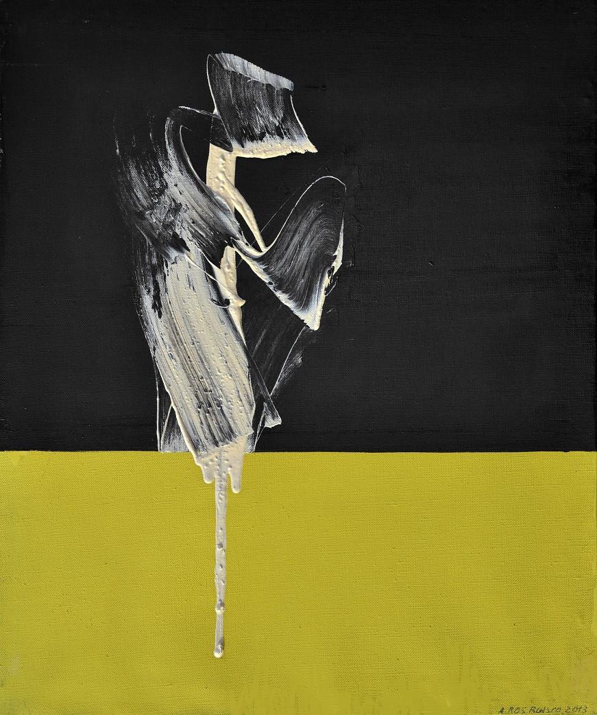 Fusion, 2013, huile s. toile, 55x46cm..j