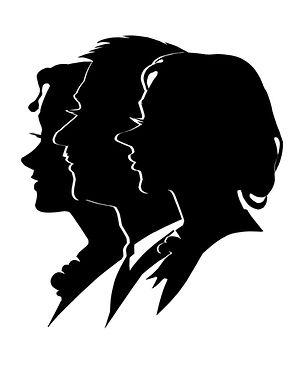 triple silhouette