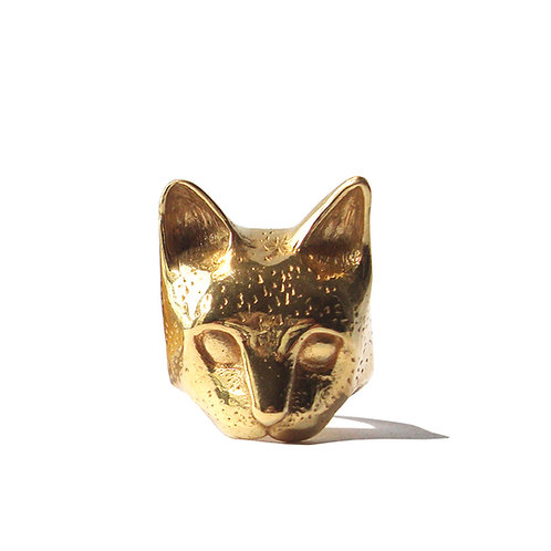 BAGUE  MASK OF CAT