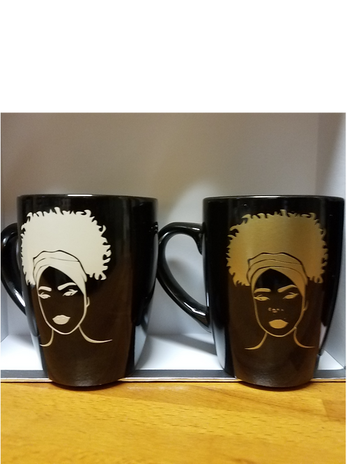 Natural Hair Coffee Mug