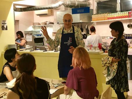 【イベントレポート】イェンスさんによるバカラオのオーブン焼きを作る料理教室