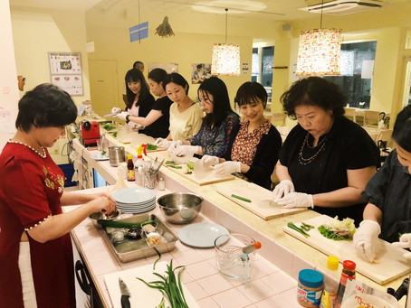 【イベントレポート】トア先生による「揚げ春巻きを添えたブン」を作る料理教室