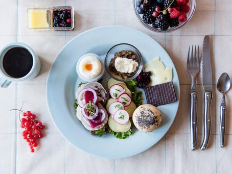7月と8月はデンマークの朝ごはん