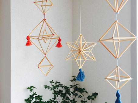 ヒンメリワークショップ〜自分で作るフィンランドの伝統装飾のお知らせ