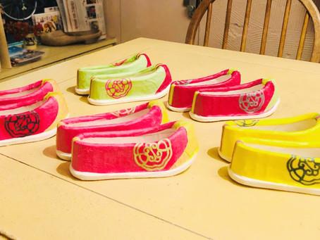 【イベントレポート】「韓国の伝統的な韓紙で作るコッシン(お花靴)」ワークショップ