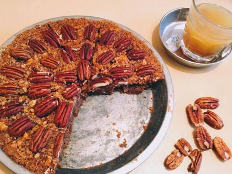 ホリデイシーズンのアメリカの定番デザート「ピーカンナッツパイ」ワークショップ