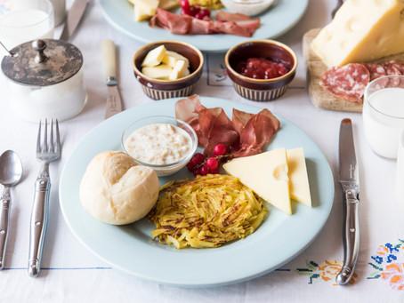原宿店の一周年を記念して「スイスの朝ごはん」を特別メニューとしてご用意します