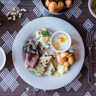 Mongolian breakfast