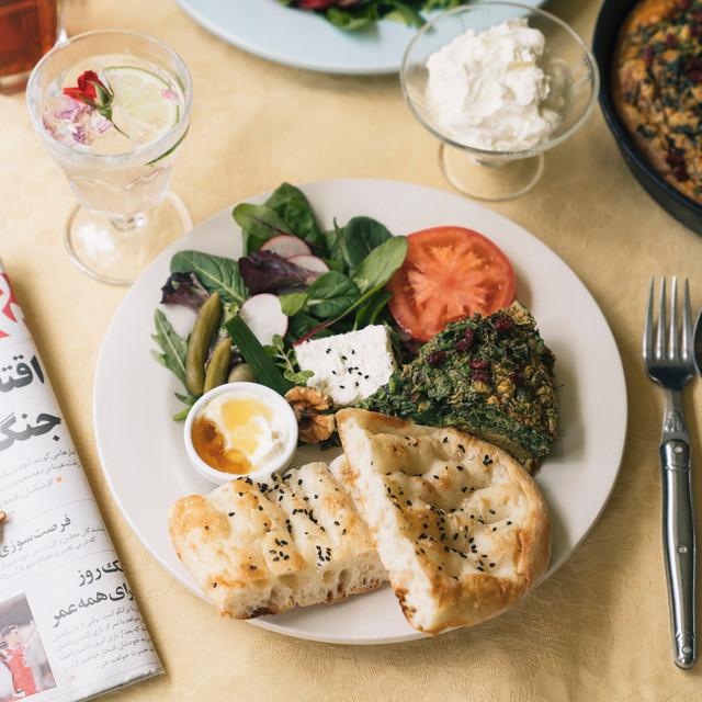 Iranian breakfast