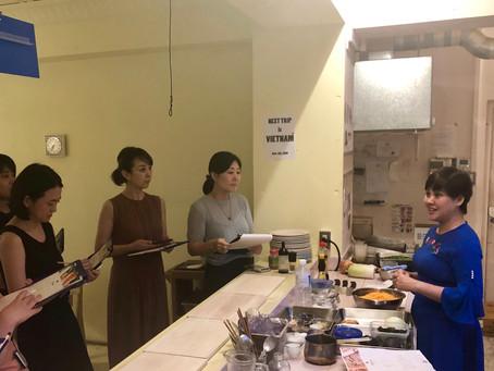 【イベントレポート】トアさんによるベトナムのおいしいサンドイッチ「バインミー」作りのワークショップ