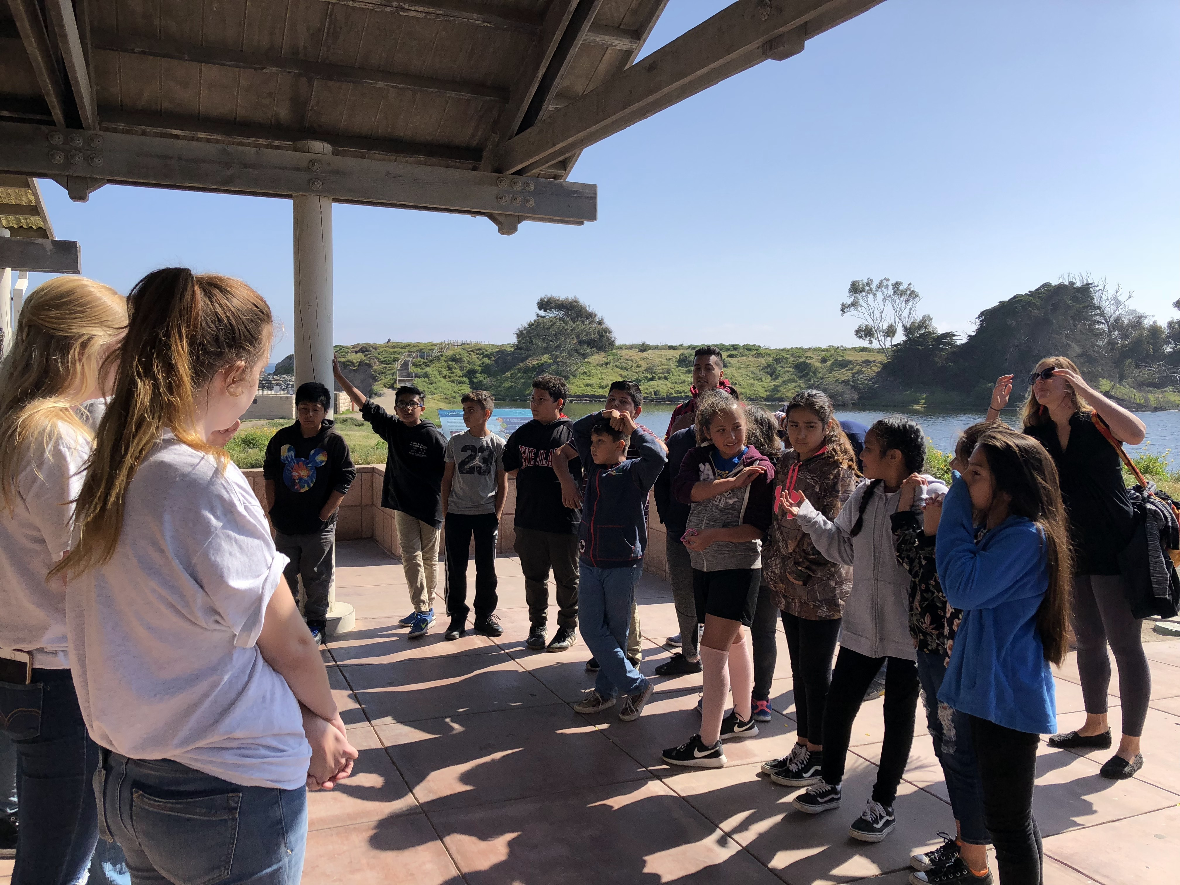 Visit to UCSB Reef